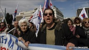 Greece agitation