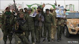 Pro-Gaddafi forces