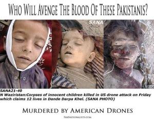 Children killed in drone attack