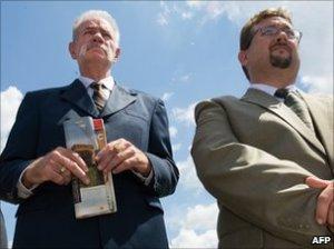 Christian pastors Terry Jones and Wyne Sapp