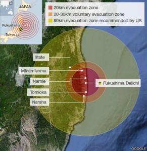 fukushima arial view