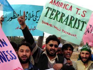 Pakistanis protests after Raymond Davis incident