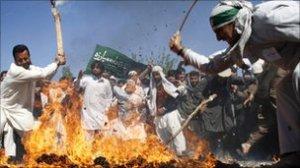 Protests in Jalalabad against Kuran burning