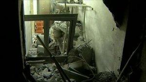 Attack on Gaddaafi home