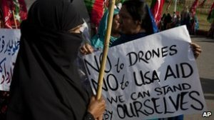 Drone protests