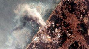 Fukushima satellite picture