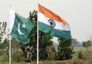 Ind Pak flags