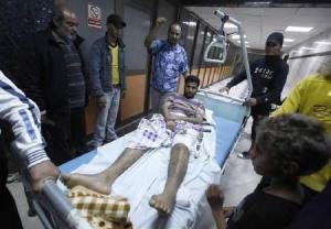 Injured in NATO bombing
