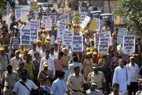 Jaitapur anti-nuclear protest