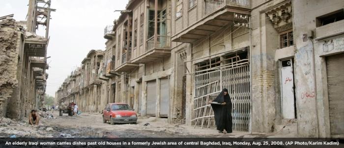 Aftermath of Iraq war in Baghdad