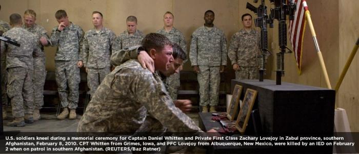 American soldiers killed in Afghanistan