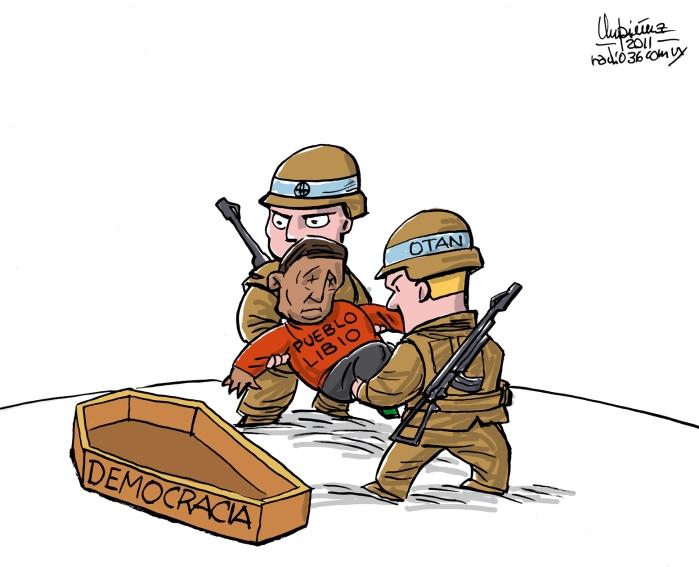 Deomocracy for Libya
