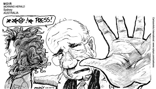 Murdoch dissatisfaction with press