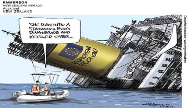 EU economy ran into S&P