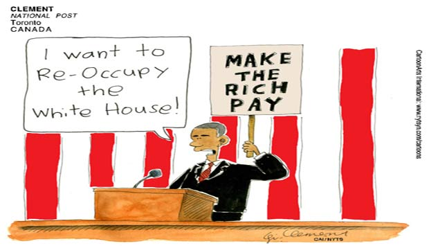 Occupy white house