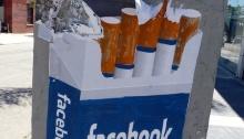Facebook -social cigarettes