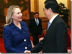 Clinton in China May 6