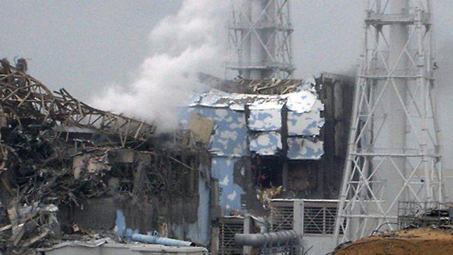 Damaged Fukushima reactors 3, 4