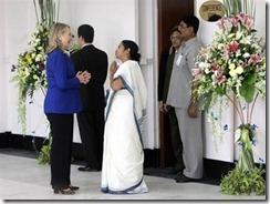 Hillary meets Mamatha