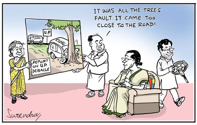 UP' congress debacle