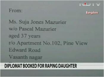 Diplomat raped daughter 2