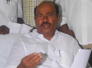 PMK leader Ramadoss -Photo: The Hindu