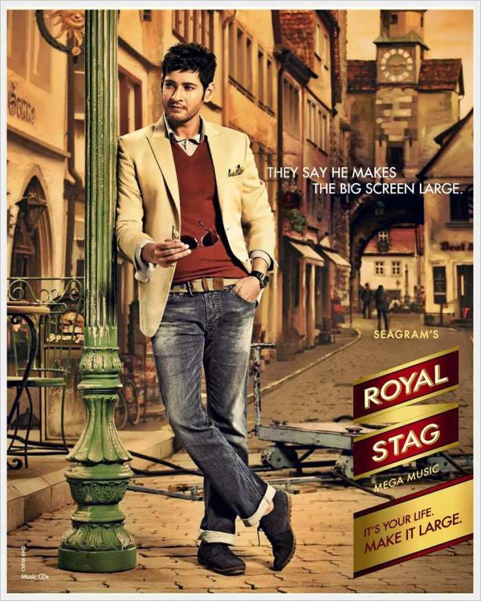Mahesh Babu in Royal Stag Ad