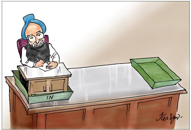 Manmohan in & out