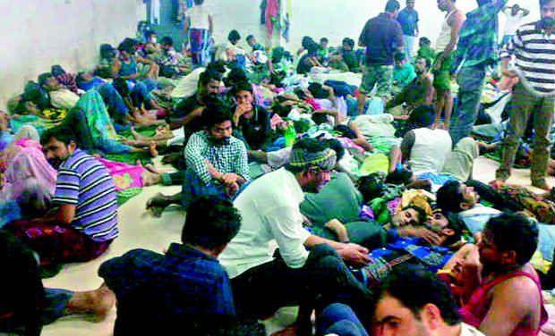 ట్రావెల్ ఏజెంట్ మోసానికి గురై సఫర్ జైలు (సౌదీ) లో ఉన్న భారతీయులు -ఫొటో: డెక్కన్ క్రానికల్
