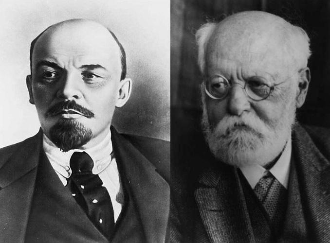 V I Lenin & Karl Kautsky