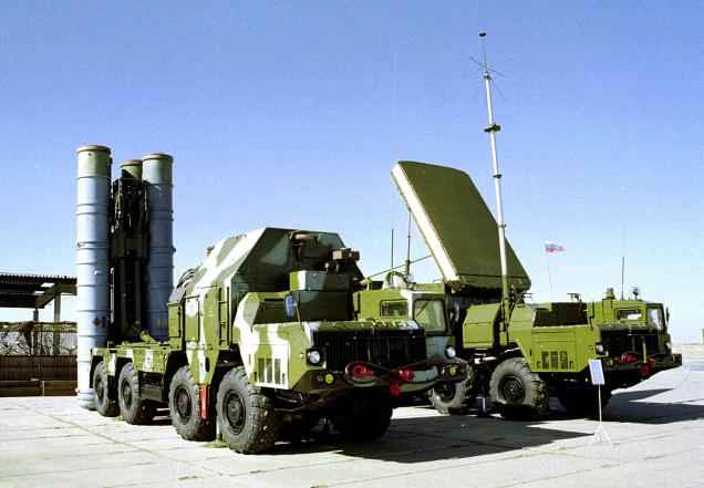 S-300 missiles