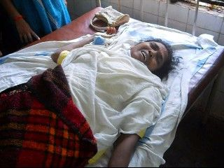 Soni Sori in hospital