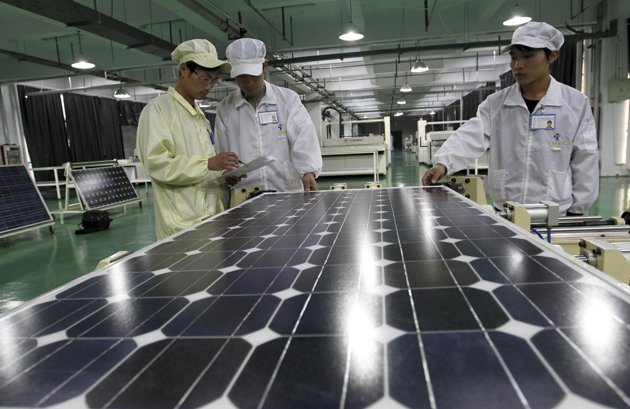 China - EU solar war