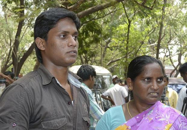 Ilavarasan with his mother on Jun 6