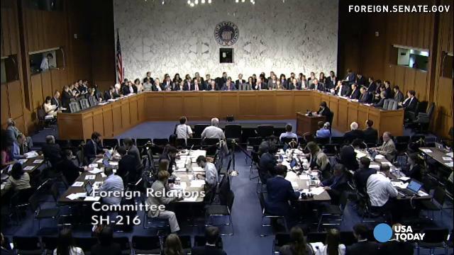 Senate committee meet on Syria 2
