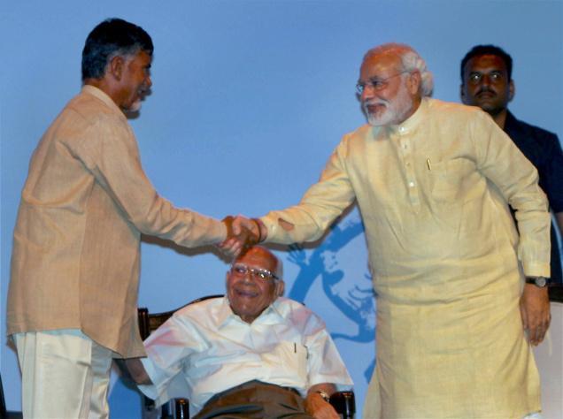 Babu and Modi in Delhi