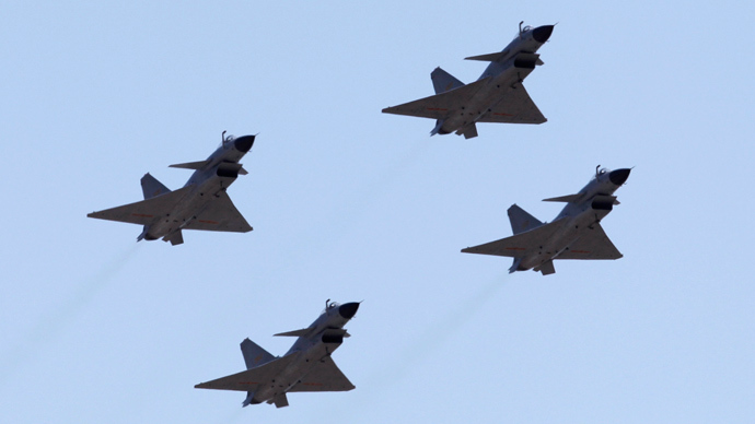 J-10 fighter jets of China Air Force