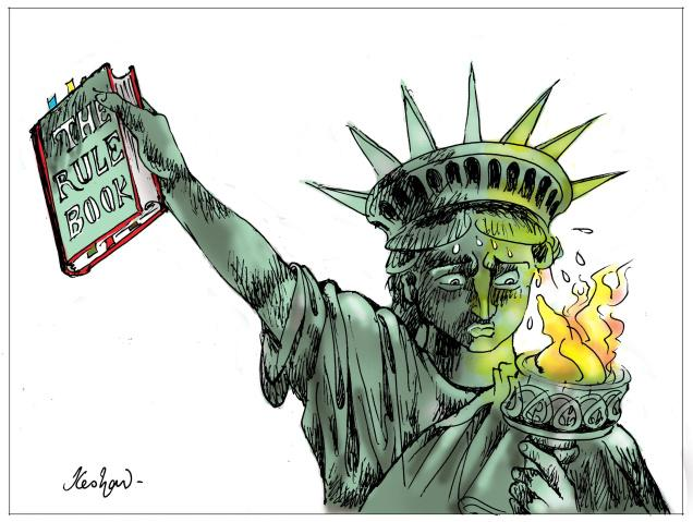 Statue of Liberty - Rule book