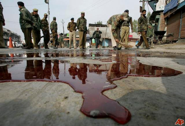 Kashmir, a bleeding wound