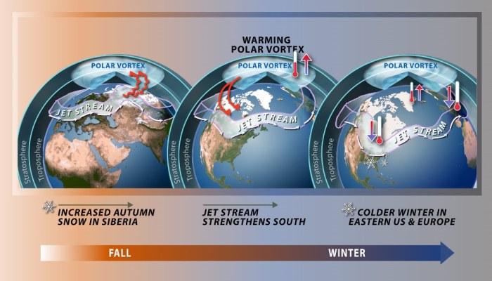 Polar vortex winter