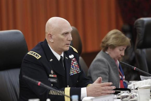 U.S. Army Chief of Staff General Ray Odierno in Beijing