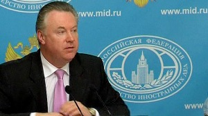 Russia's foreign ministry spokesman Alexander Lukashevich