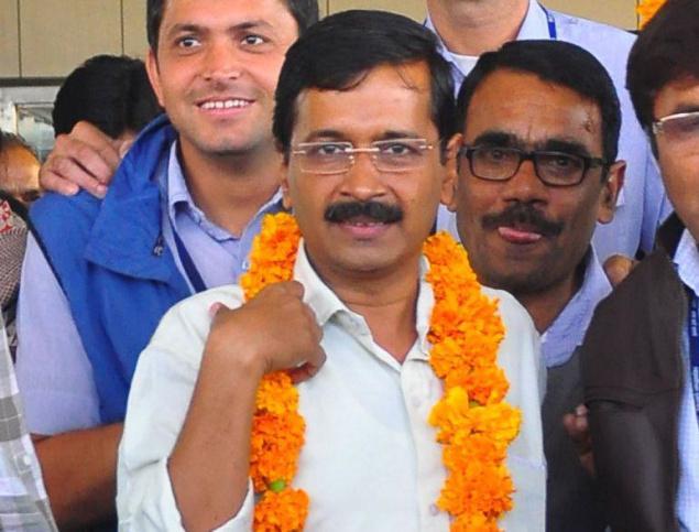 Arvind Kejriwal in Jaipur