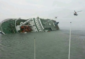 South Korea Ferry 'Sewol' Sinks 01