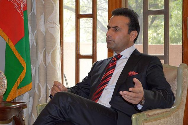 Afghanistan's Ambassador to India, Shaida Abdali
