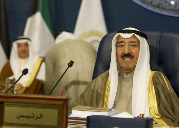 Kuwait's Emir Sheikh Sabah al-Ahmed al-Sabah