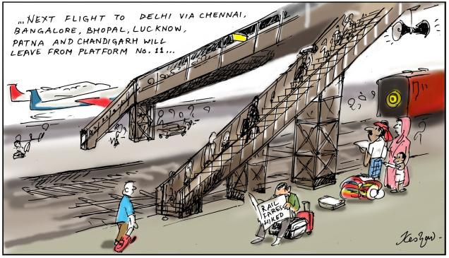 Rail fare hike
