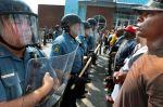 03 Protestors headon with Police