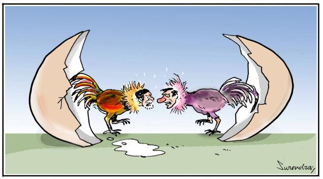 Babu vs KCR