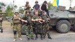 Donbass militia in Novoazovsk
